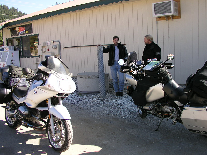 A rest stop in Plain