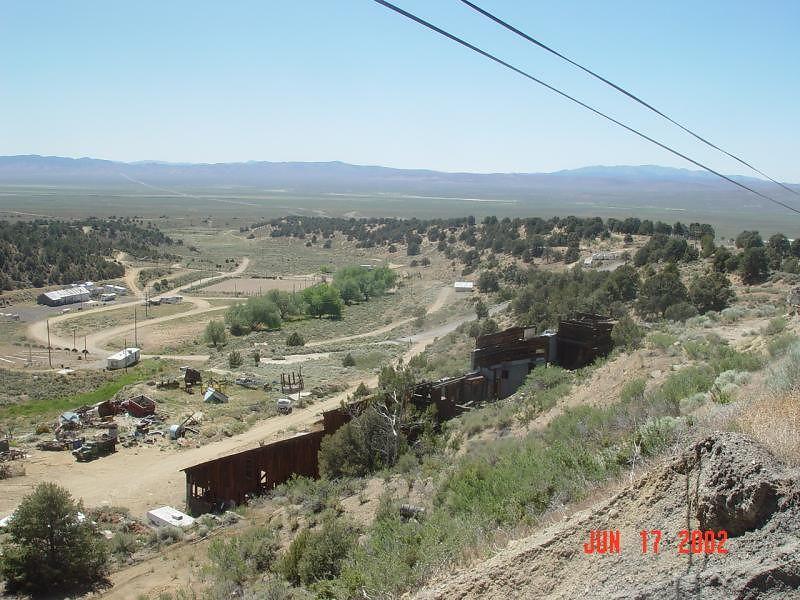 Old mining town, Austin Nevada