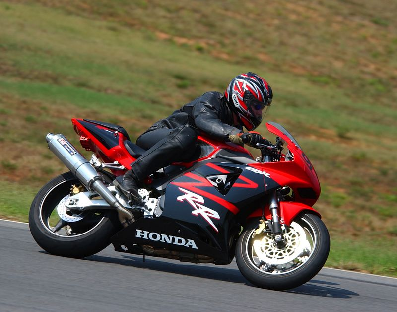 "Me coming down the ""Roller Coaster Hill"" at Virginia International Raceway on my 2002 CBR954RR  <a href=""http://www.virclub.com/cms/"">http://www.virclub.com/cms/</a>"