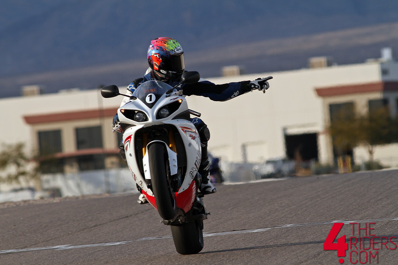 scott russell mr daytona wheelie las vegas