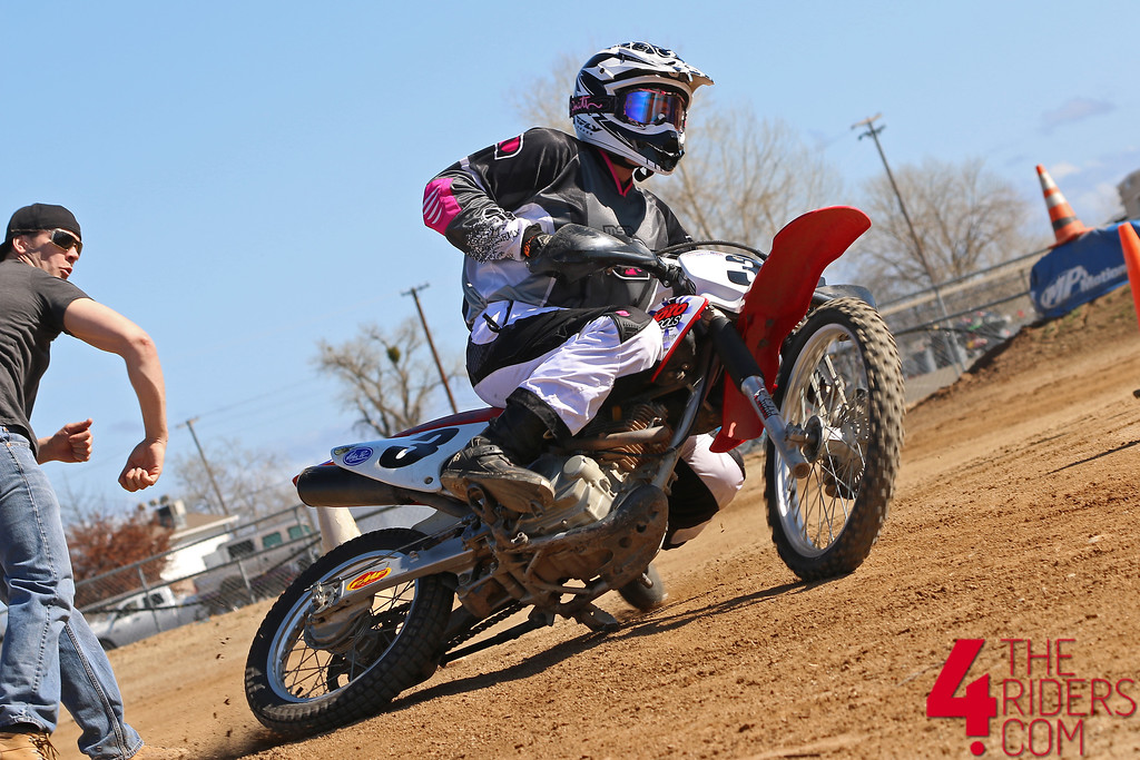 CRF230 honda slide girls that ride