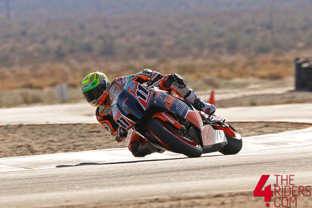 chris fillmore ktm ama superbike rc8 orange