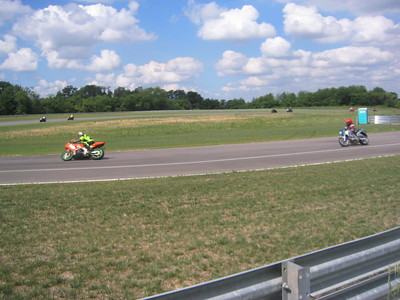 My and Mark going into turn 1