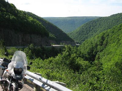 R1150GS on Cabot Trail