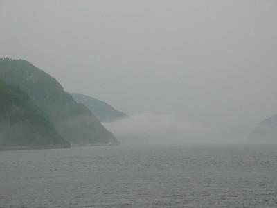Fjord near Tadoussac