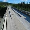 Wooden bridge over Riviere Hart Jaune