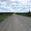 More gravel road...