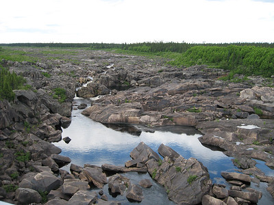 Churchill Falls river