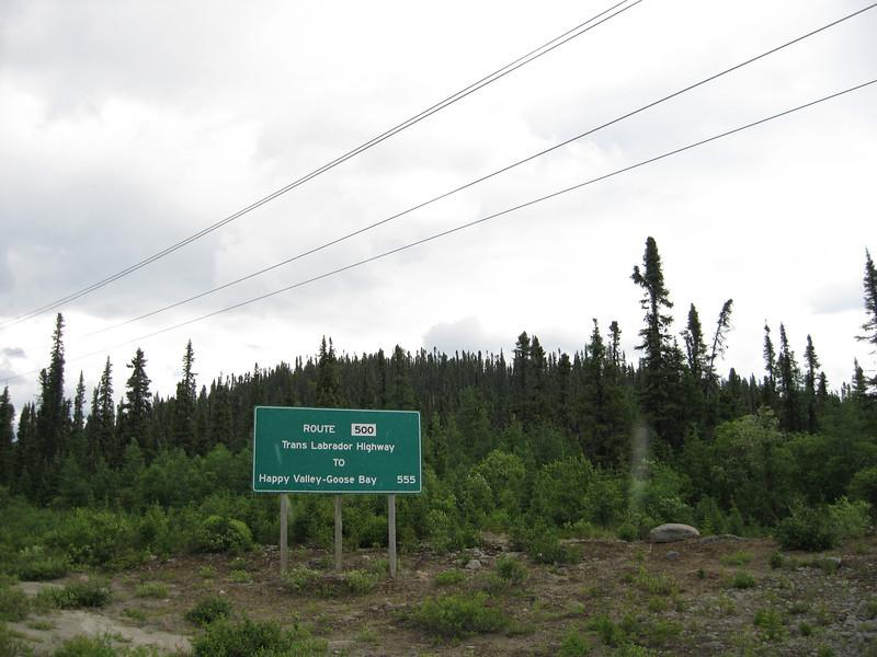 Newfoundland Labrador sign