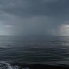 Localized rain storm