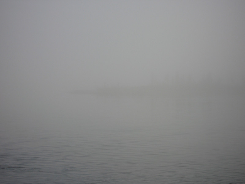 Early morning fog near Rigolet