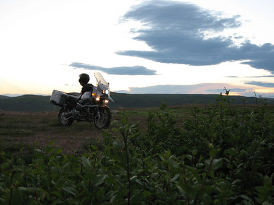 R1150GS at sunset