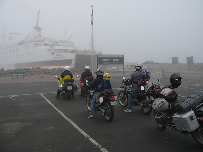 Waiting for the ferry to Newfoundland