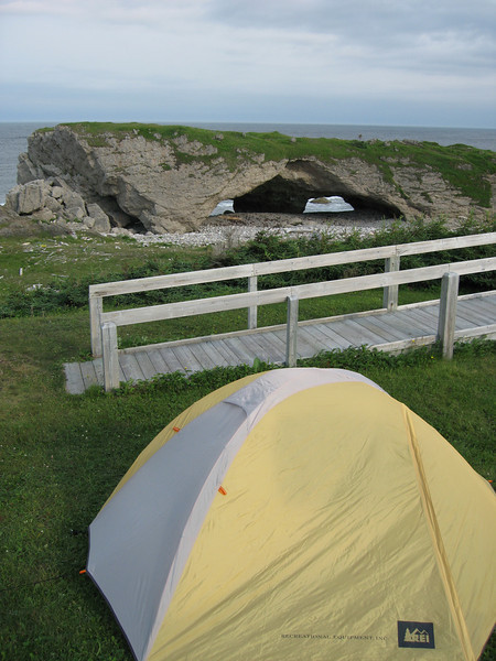 Camping at The Arches