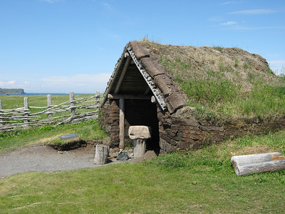 Reconstruction of viking settlement