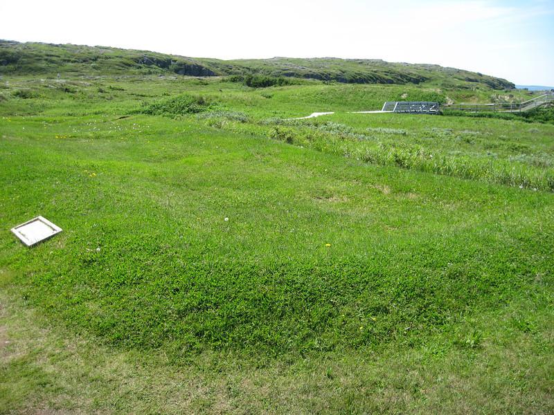 Original site of a viking settlement