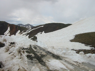 Hurricane Pass, Colorado - Mid June, 2006.