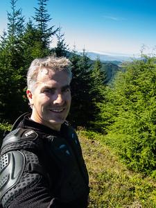 Jim on Grindstone Peak