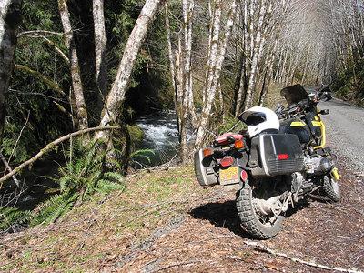 GS along Elk Creek