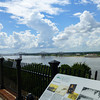 An overlook of the walking trails directly below, and the mighty Mississippi River located in Natchez. The city has abundant historic sights throughout.