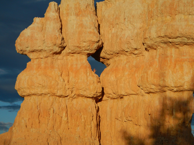 Bryce Canyon.  That's my hand.
