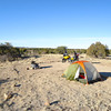 Picketwire Canyon campsite