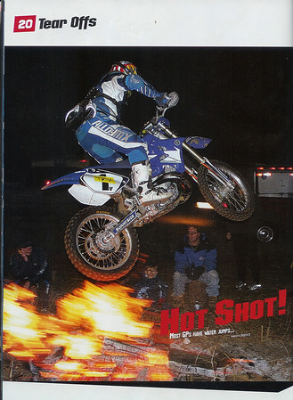 Trav's Dirt Rider Photos February 2006 Issue