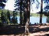 Manastash Lake on the trail back to Rider Camp