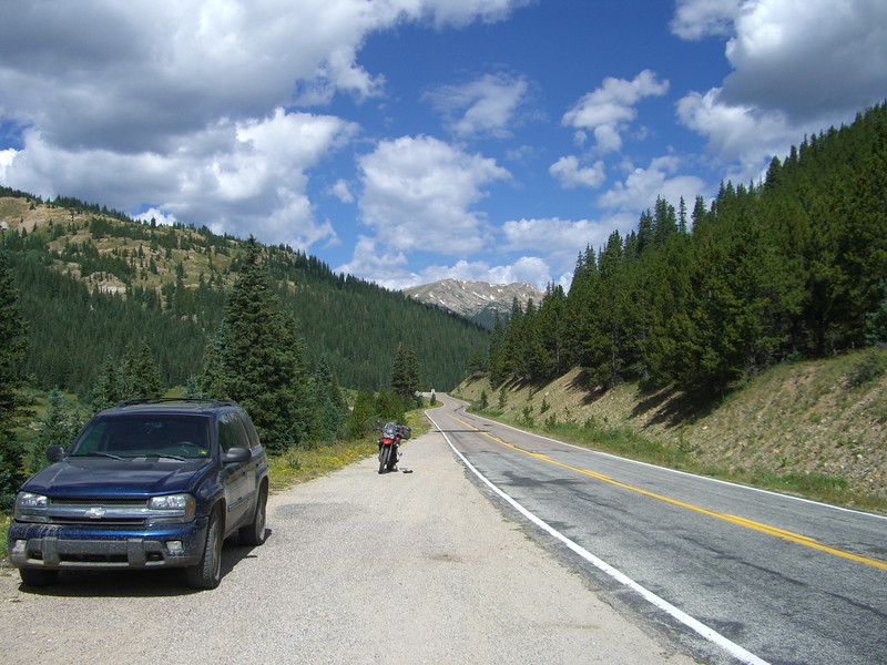 the way up to Independence Pass from Aspen