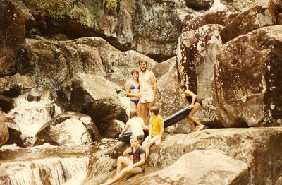 Trip to Carins 1986