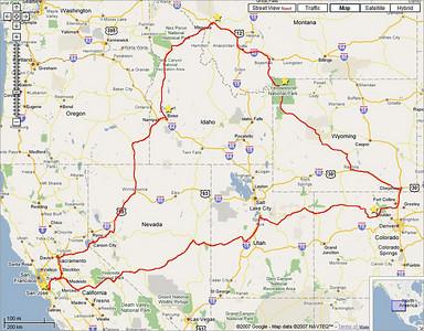 Trip to Rocky Mntn Natl & Yellowstone