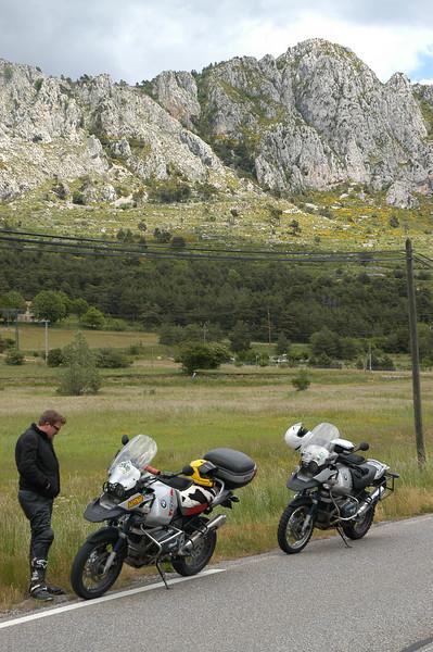 on the route napoleon, en route to Castellane