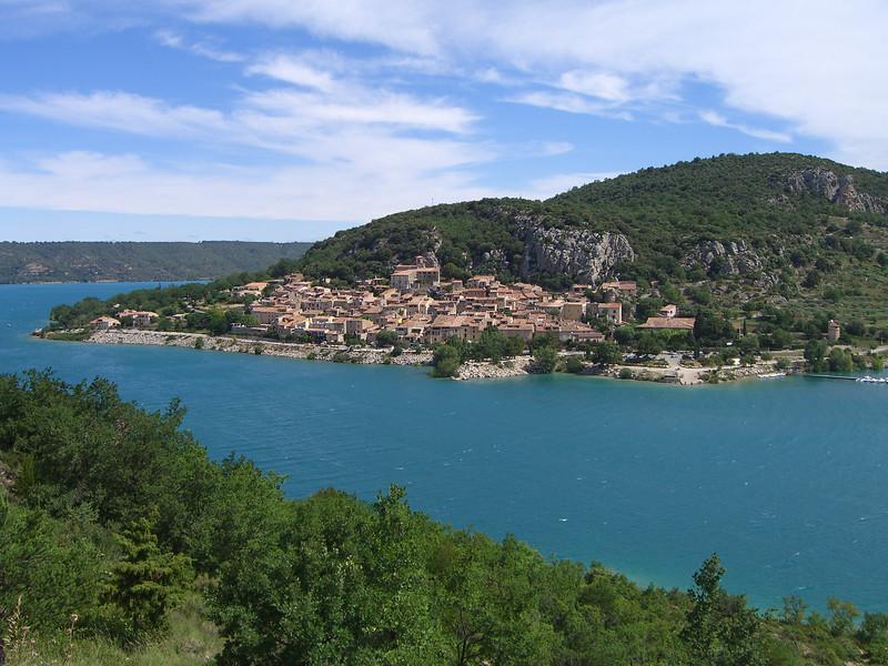 Bauduen on the Lac de Sainte Croix