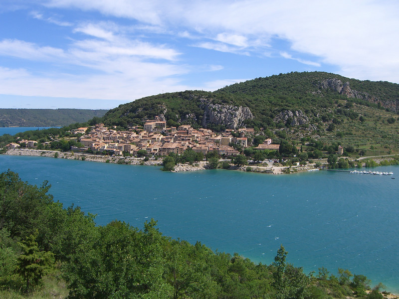 Bauduen on the Lac de Sainte Croix
