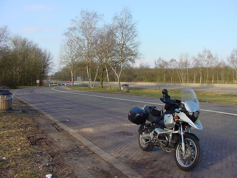 BMW R1150GS - On the way (somewhere in The Netherlands)