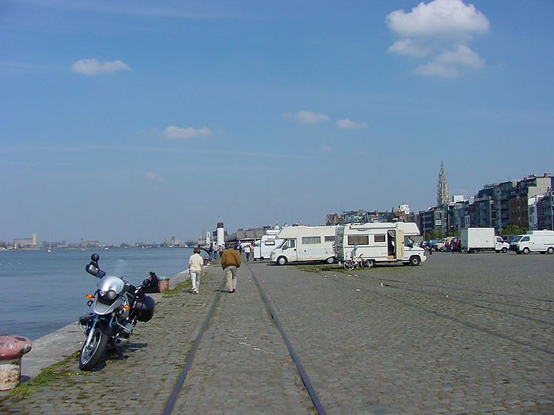 Oldest part of the port: Antwerpen Zuid