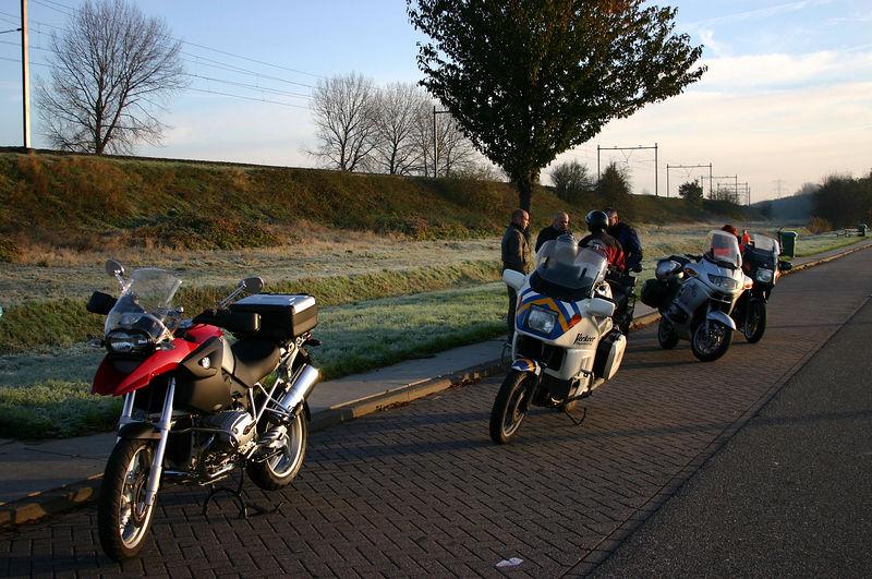Rondje Zeeland met J-P en het BMW MC Vl. Forum (19/11/2005)