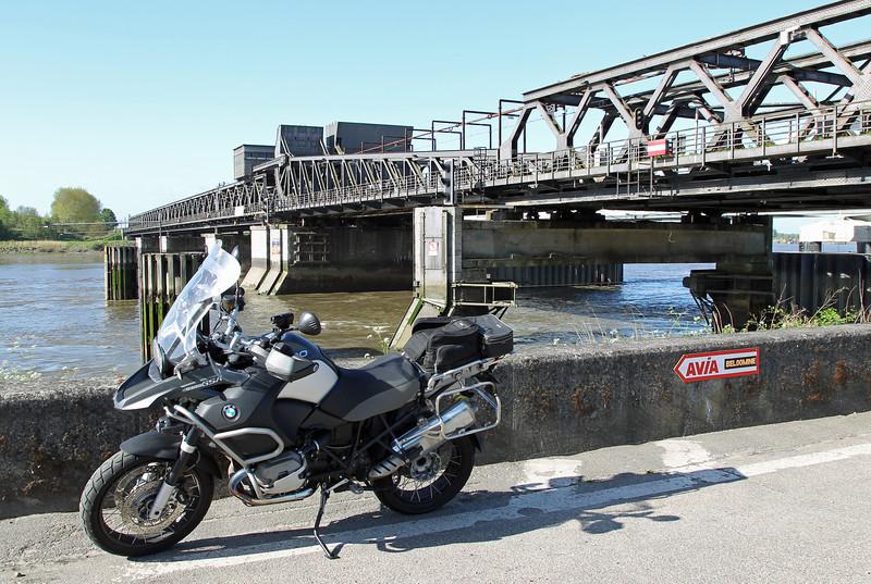 Rit langs Schelde en Durme - Scheldebrug in Temse