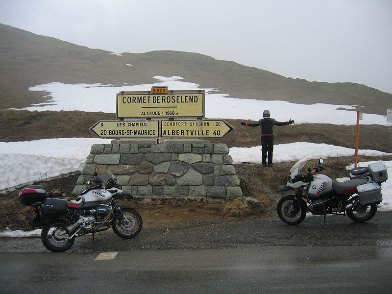 The tour de France 2005 will be going over here, hope they get better weather.