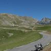 another biker coming doon the road