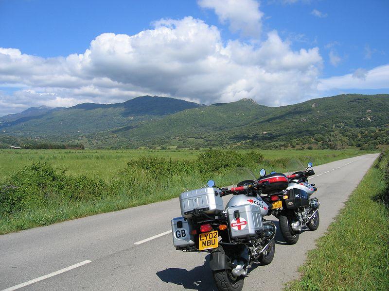 heading south from Ajaccio to Bonifacio