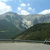 On the road up to Col des Champs