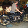 1924 ACE Sport Solo.  The owner cranked this one up and ran it for us.  Very cool.