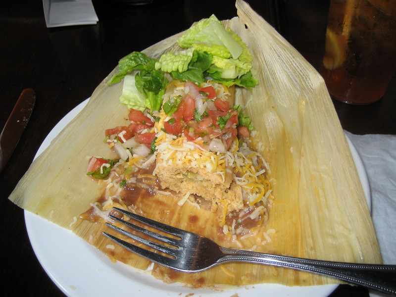 Tamale, very tasty!!!