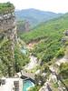 The Lac de Castillon, just north of Castellane