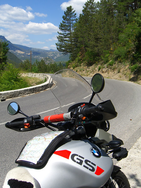 Route Napoleon, looking towards Castellane.