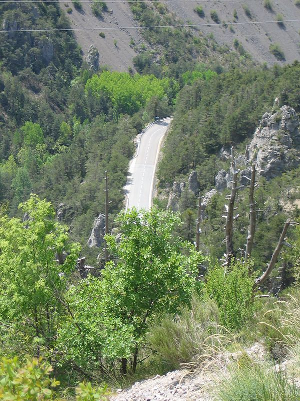The road to Guillames