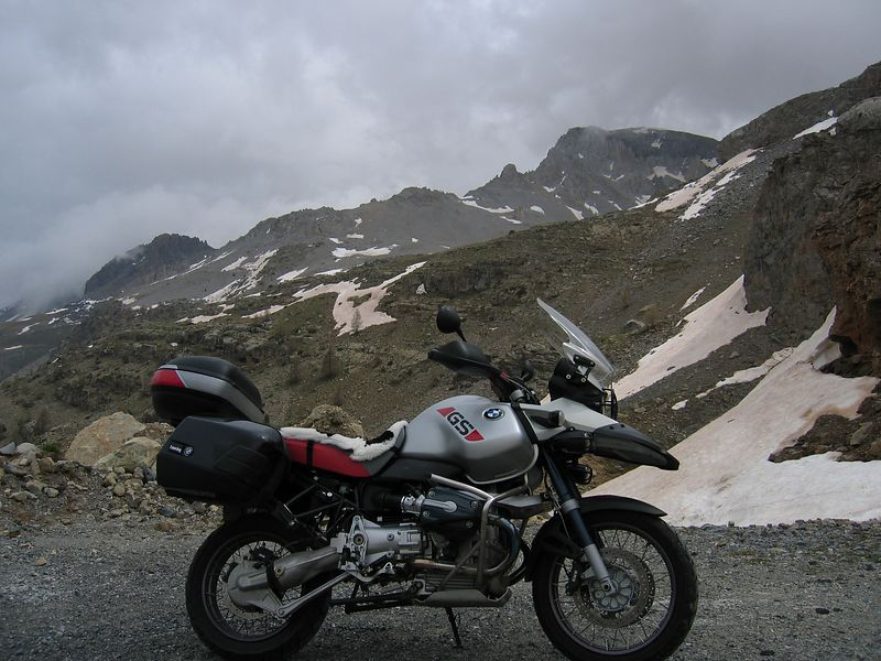 Col de la Bonette road, highest in Europe at 2860m
