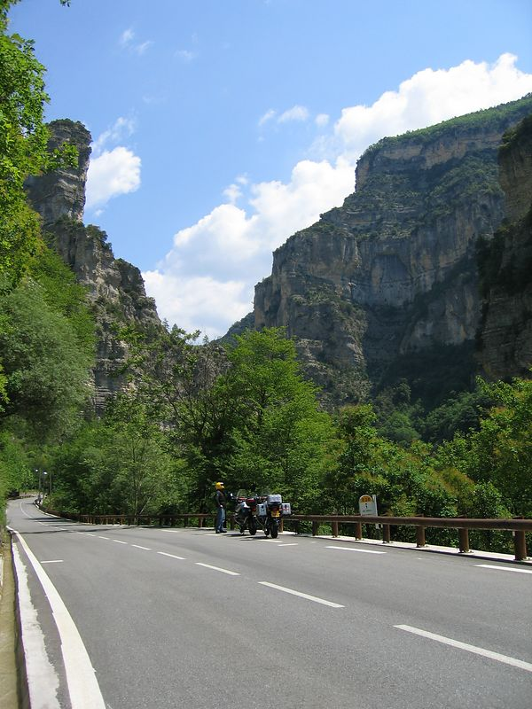 Gorges du Cians, May 30 04