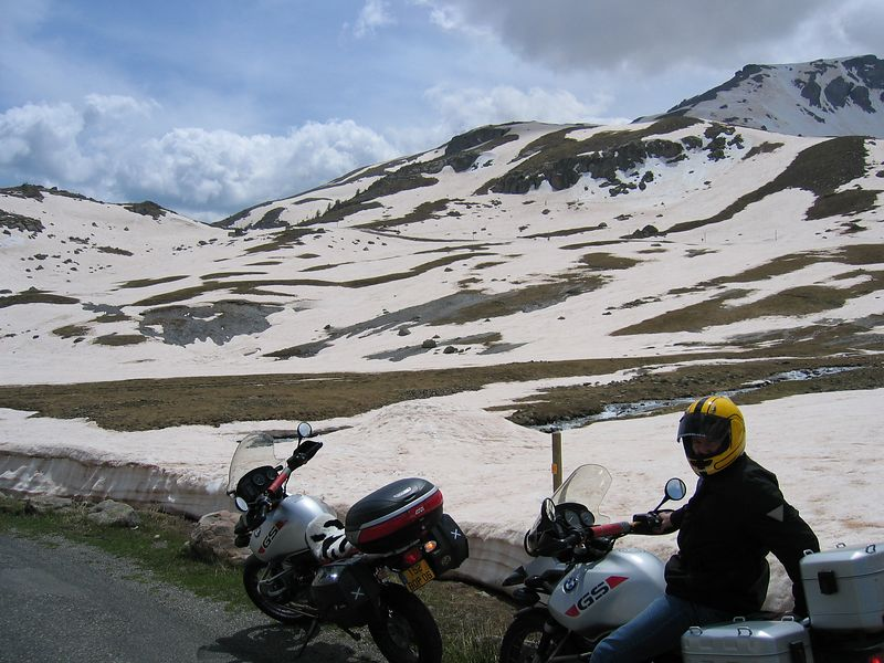 The north face of the col de cayolle
